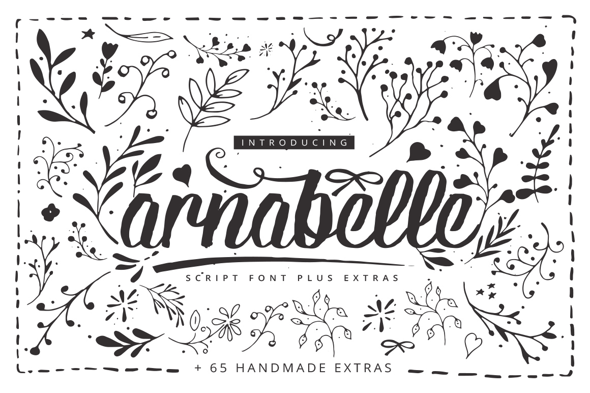 Print on Demand: Arnabelle Script Script & Handwritten Font By DesignSomething