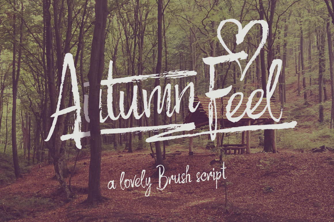 Print on Demand: Autumn Feel Script & Handwritten Font By Gleb Guralnyk