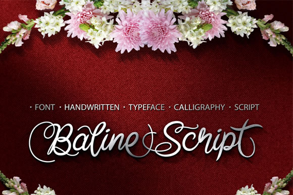 Print on Demand: Baline Script Script & Handwritten Font By Cove703