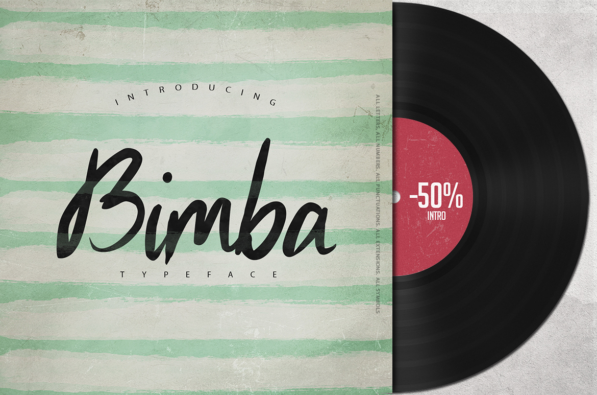 Print on Demand: Bimba Script & Handwritten Font By SmartDesigns