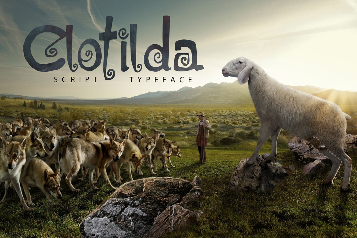 Print on Demand: Clotilda Script & Handwritten Font By SmartDesigns