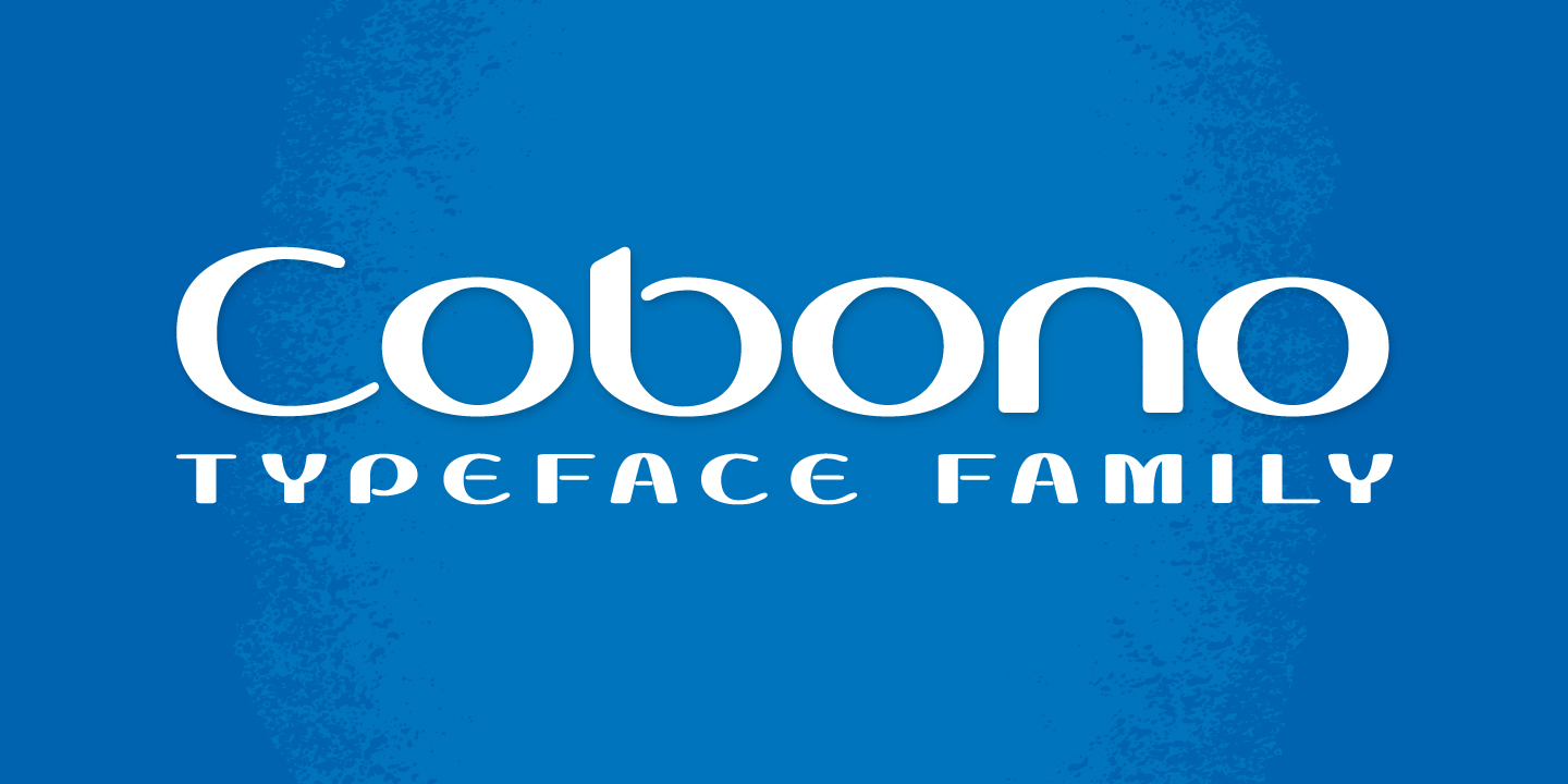 Print on Demand: Cobono Display Font By Typogama