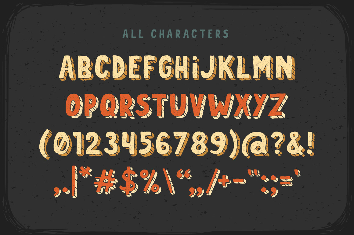Print on Demand: Dirty Cartoon Display Font By Gleb Guralnyk - Image 2