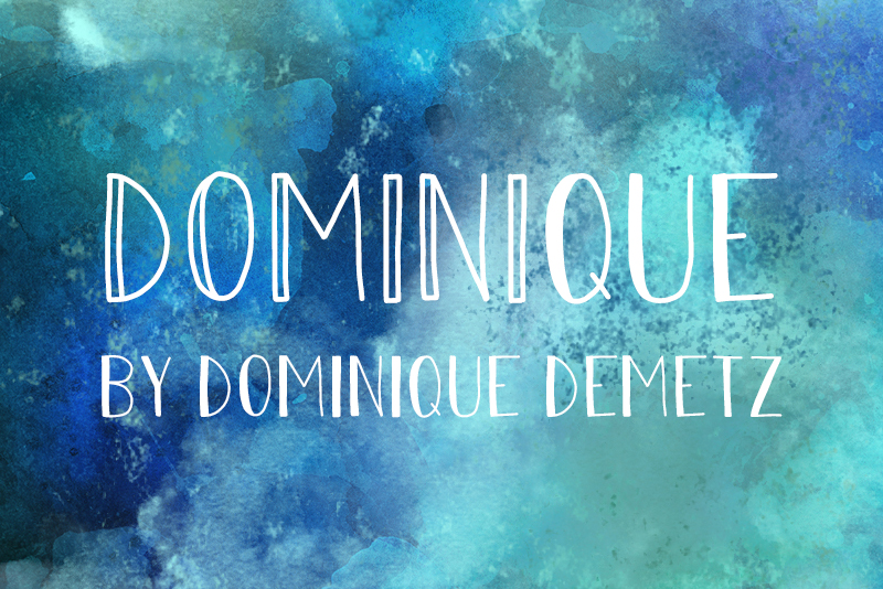 Print on Demand: Dominique Script & Handwritten Font By Dominique Demetz - Image 1