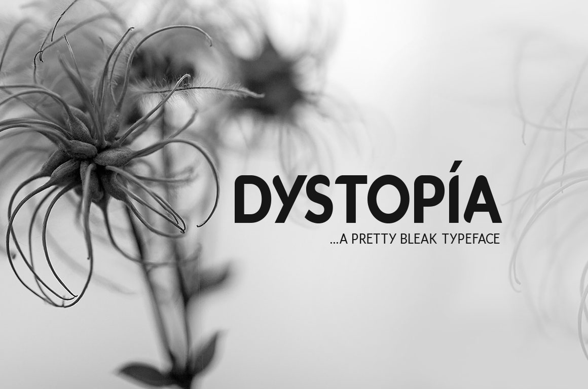 Print on Demand: Dystopia Typeface Sans Serif Font By DesignSomething