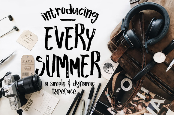 Print on Demand: Every Summer Script & Handwritten Font By Blue Robin Design Shop