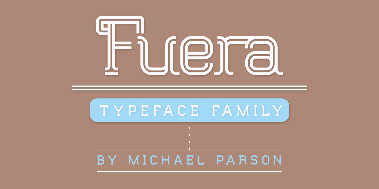 Print on Demand: Fuera Sans Serif Font By Typogama