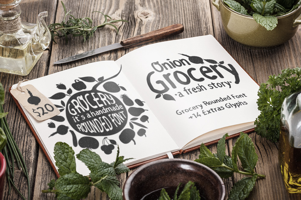 Print on Demand: Grocery Rounded Sans Serif Font By DesignSomething