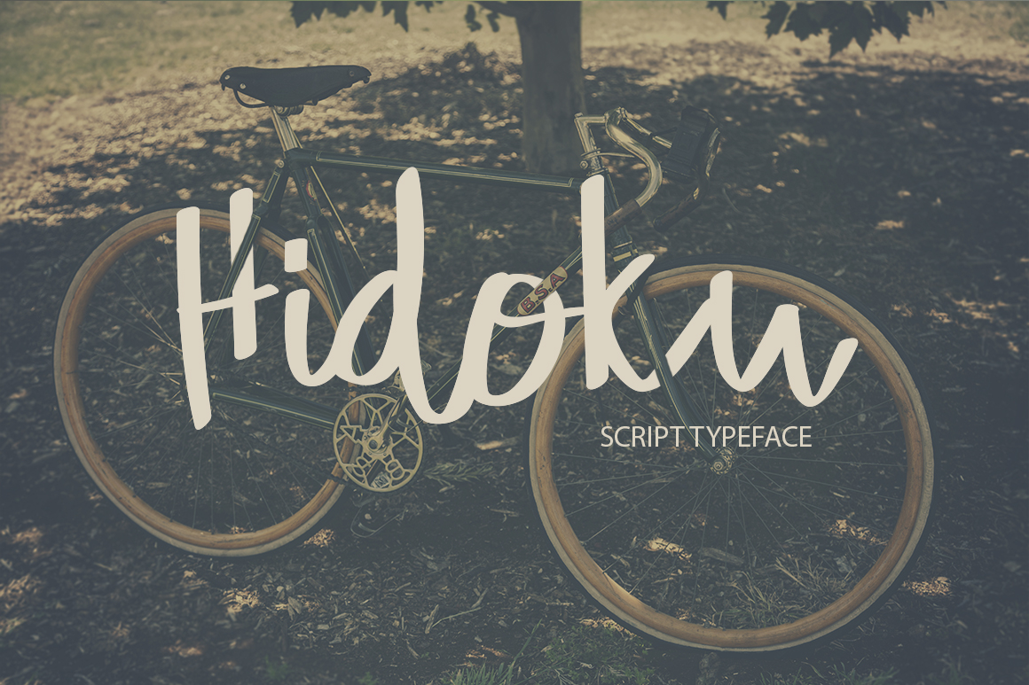 Print on Demand: Hidoku Script & Handwritten Font By SmartDesigns