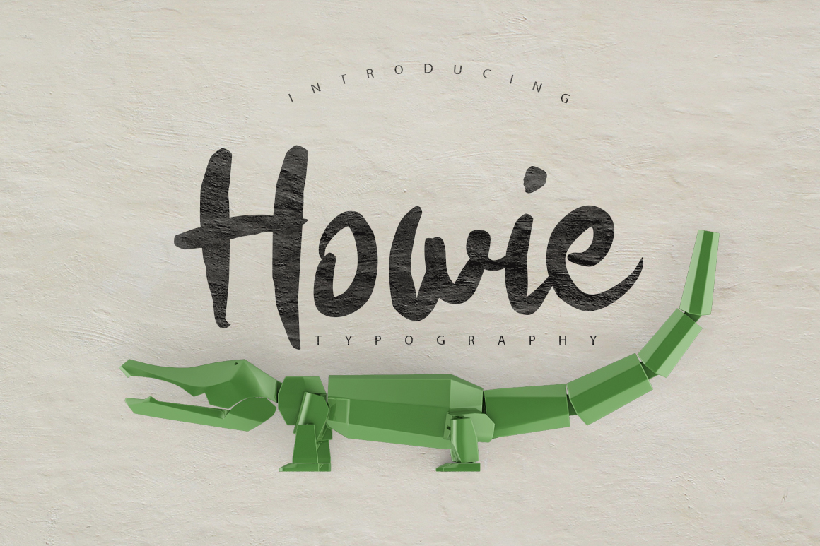 Print on Demand: Howie Script & Handwritten Font By SmartDesigns