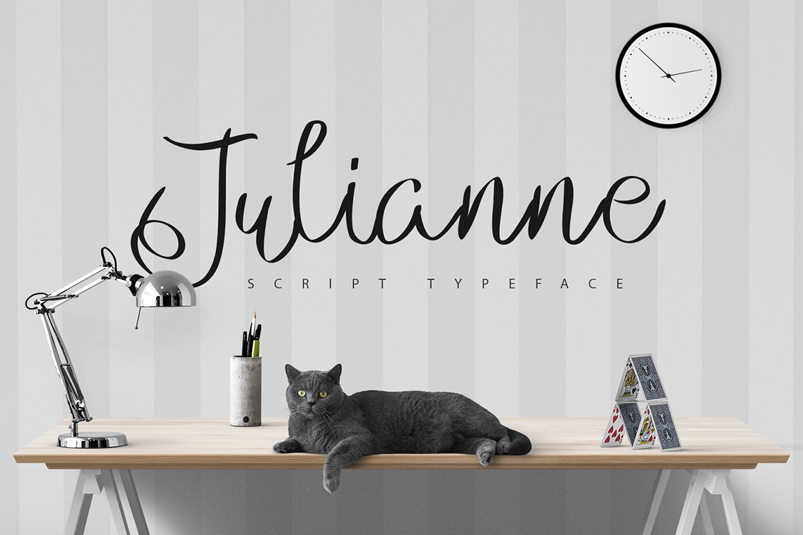 Print on Demand: Julianne Script & Handwritten Font By SmartDesigns