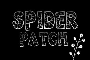 KB3 Spider Patch Display Font By K26Fonts