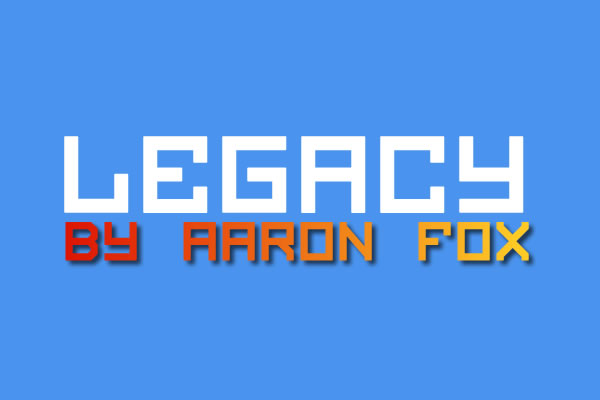 Print on Demand: Legacy Display Font By Aaron