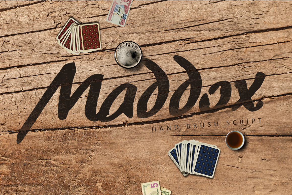 Print on Demand: Maddox Display Fuente Por SmartDesigns