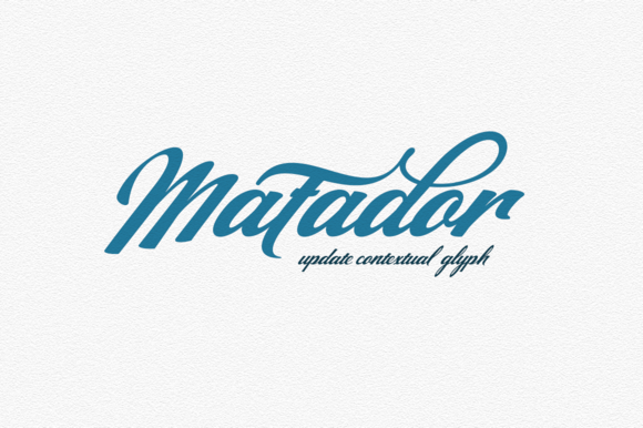 Print on Demand: Matador Script & Handwritten Font By Groens Studio