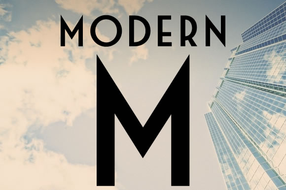 Print on Demand: Modern M Sans Serif Font By Upper Type Foundry