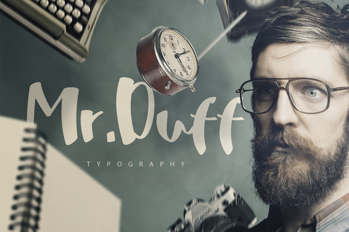 Print on Demand: Mr. Duff Script & Handwritten Font By SmartDesigns - Image 1