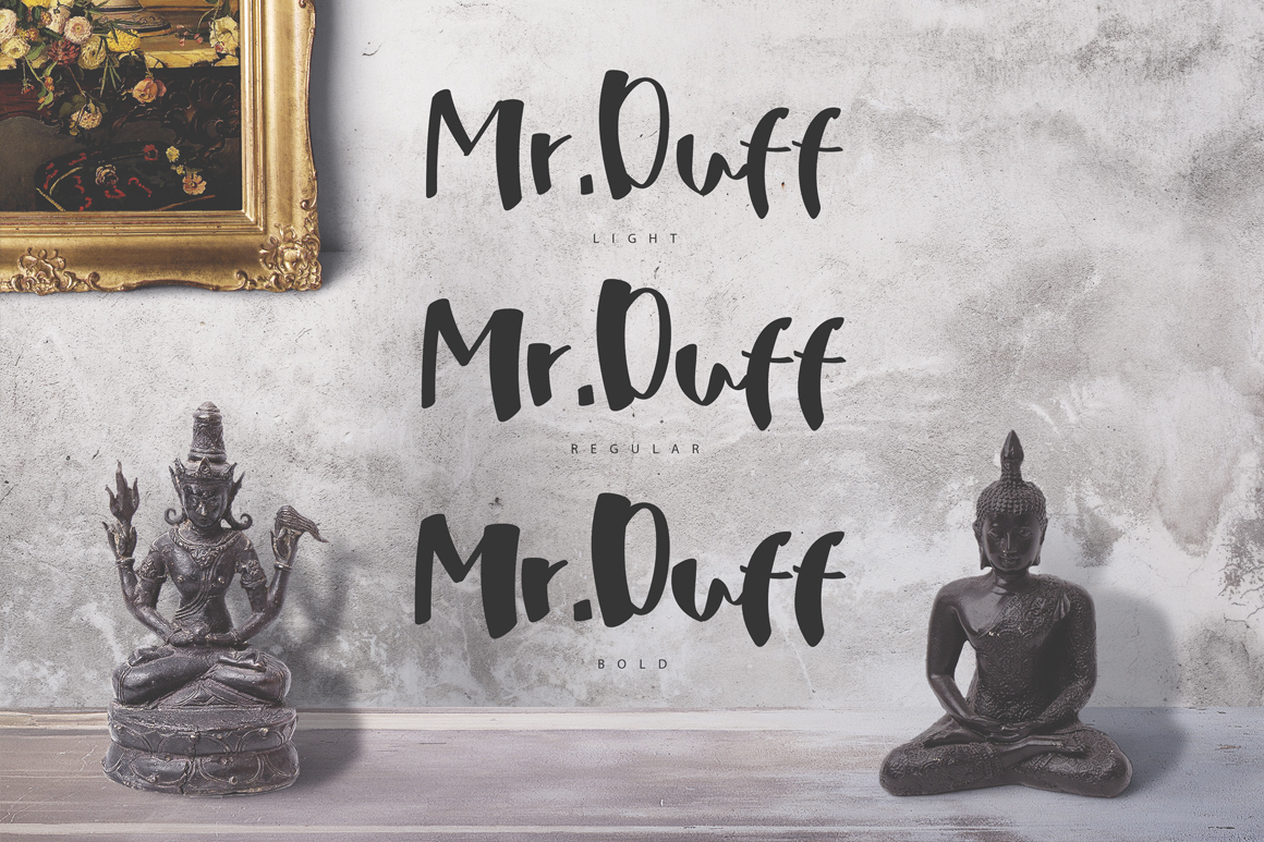 Print on Demand: Mr. Duff Script & Handwritten Font By SmartDesigns - Image 3