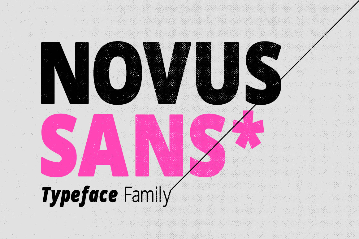 Print on Demand: Novus Sans Sans Serif Font By DesignSomething - Image 1
