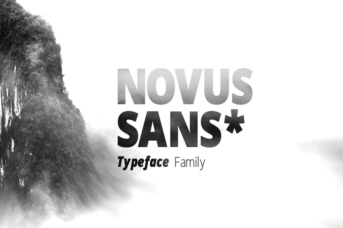 Print on Demand: Novus Sans Sans Serif Font By DesignSomething - Image 7