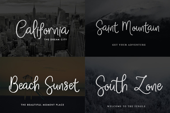 Print on Demand: Sathscha Script & Handwritten Font By Mercurial - Image 5