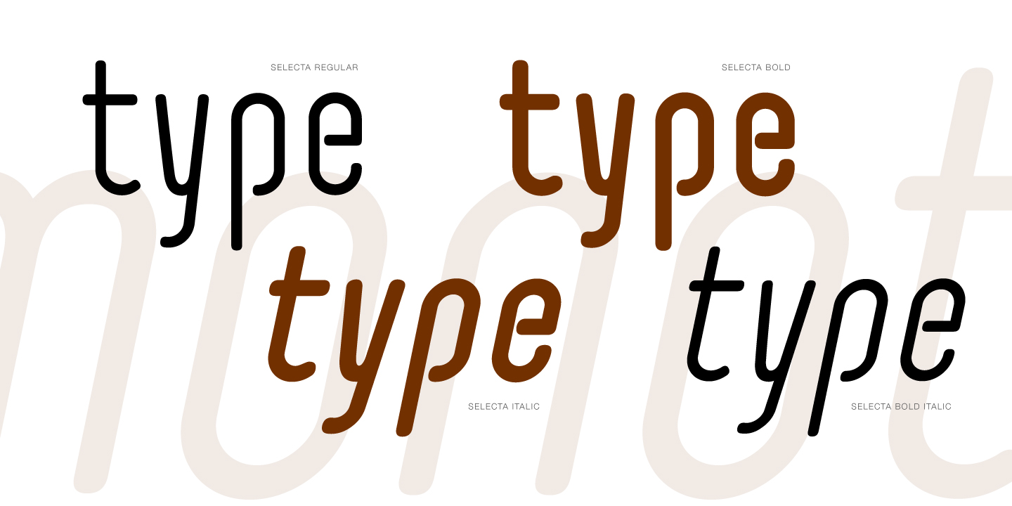 Print on Demand: Selecta Sans Serif Font By Typogama - Image 2