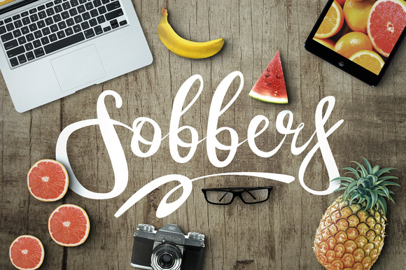Print on Demand: Sobbers Typeface Script & Handwritten Font By maulanacreative