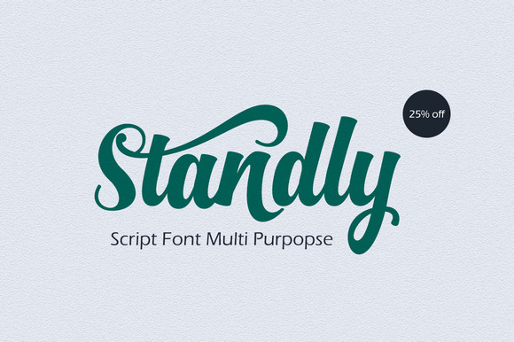 Print on Demand: Standly Script & Handwritten Font By Groens Studio