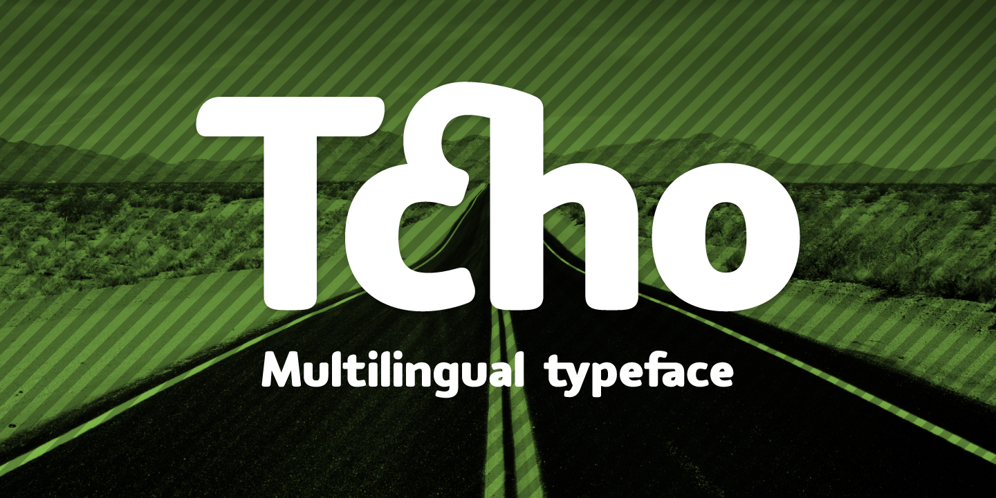 Print on Demand: Tcho Sans Serif Font By Typogama