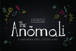 The Anomali Font by Miibeedrawing commercial license 1