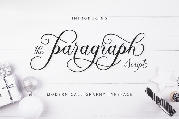 Print on Demand: The Paragraph Script Script & Handwritten Font By Creative Fabrica Fonts