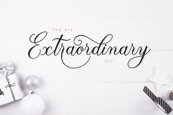 The Paragraph Script Font By Creative Fabrica Fonts Image 3
