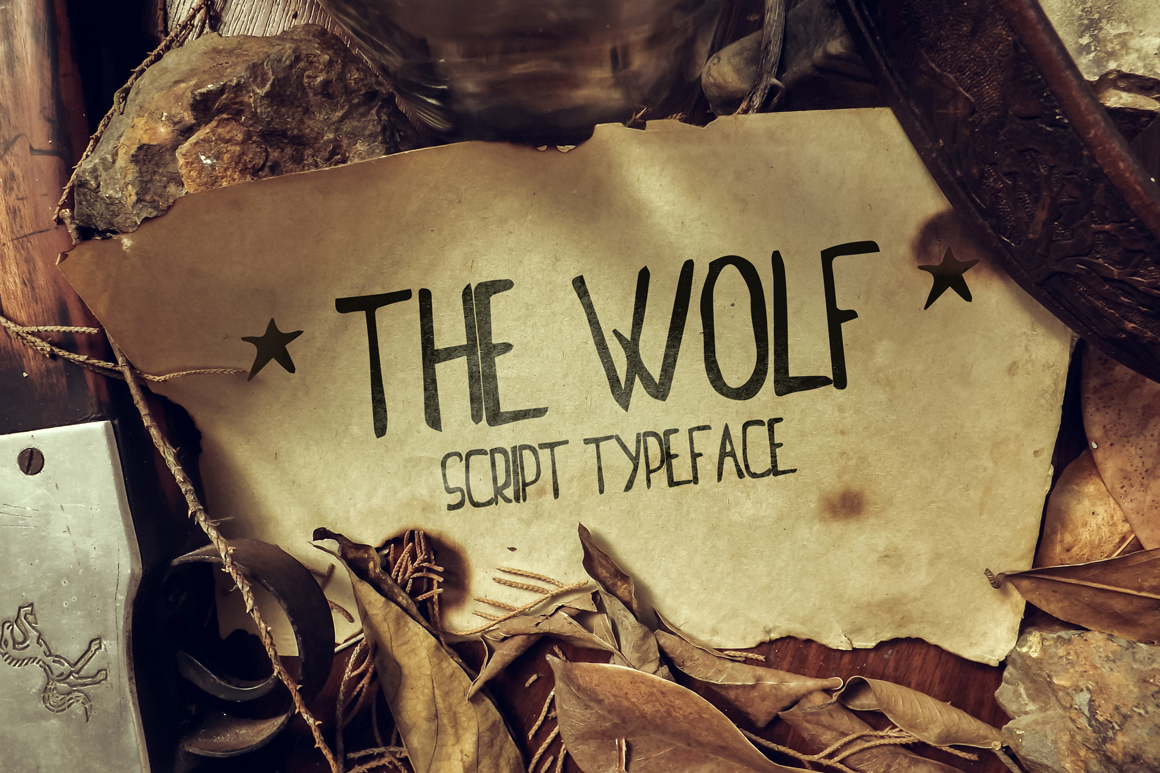 Print on Demand: The Wolf Display Font By SmartDesigns