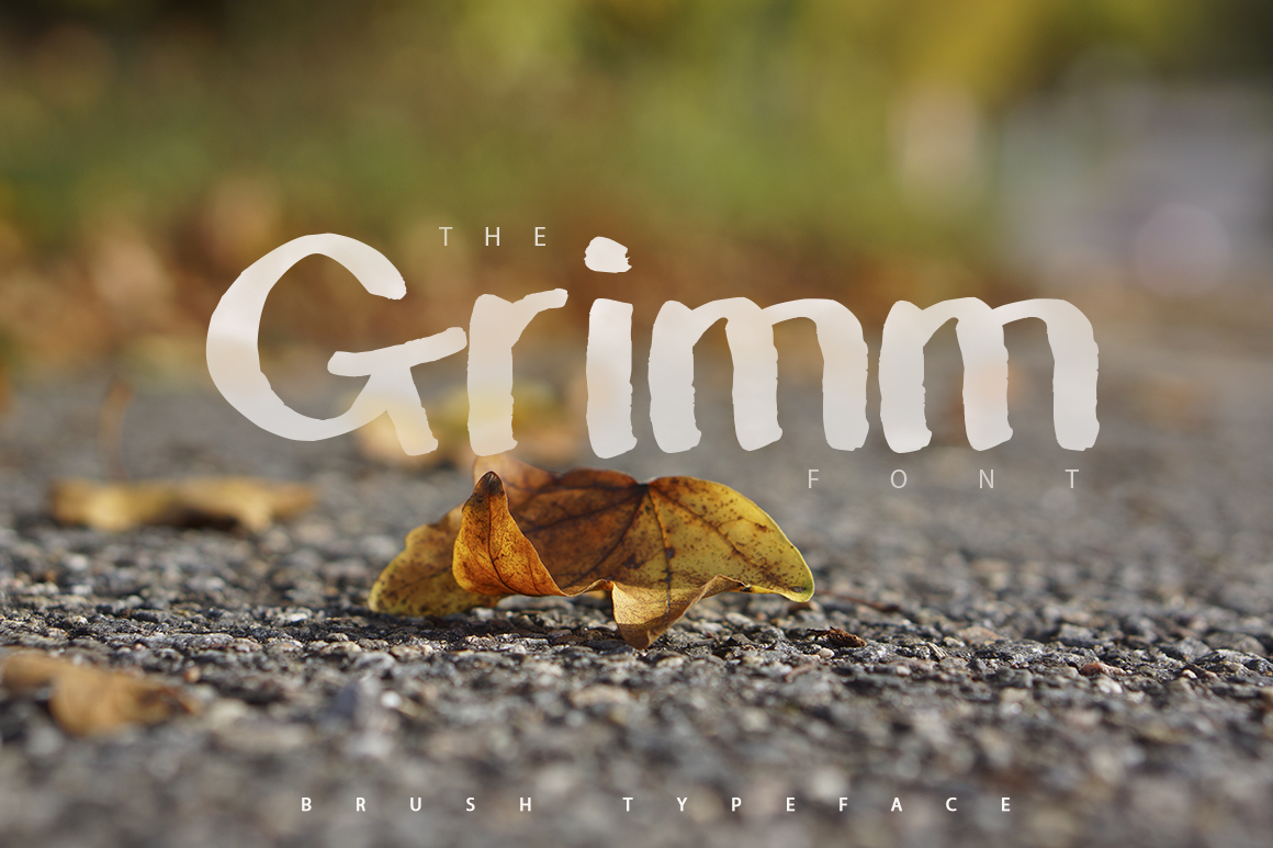 Print on Demand: The Grimm Display Font By SmartDesigns