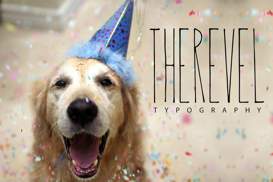 Print on Demand: Therevel Sans Serif Font By SmartDesigns