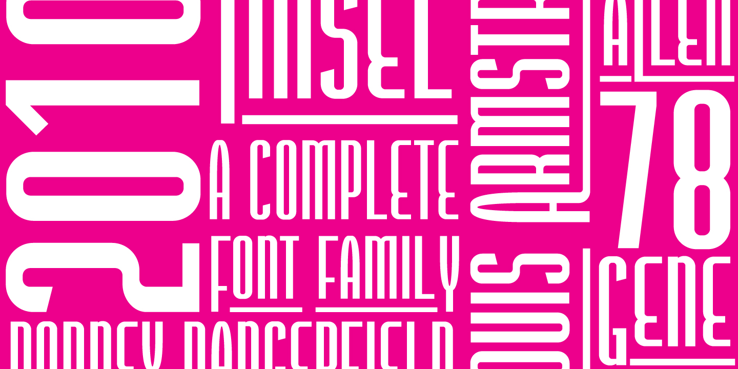 Print on Demand: Tinsel Sans Serif Font By Typogama - Image 4