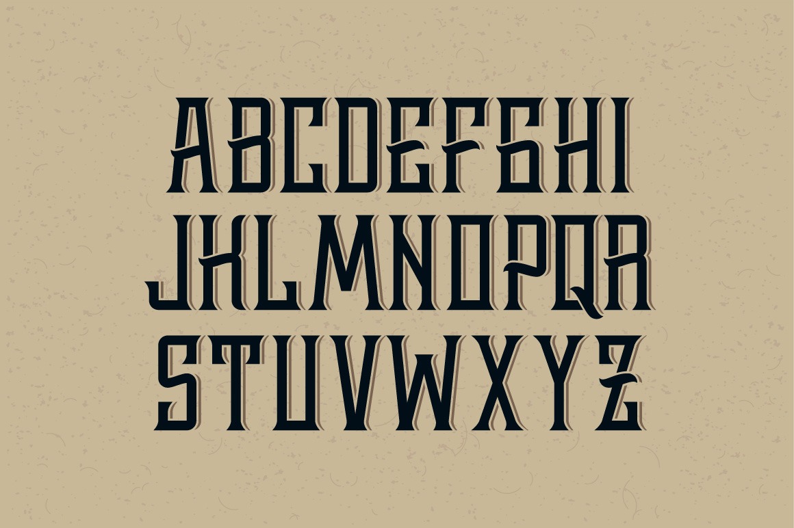 Print on Demand: Whiskey Font Display Font By Gleb Guralnyk