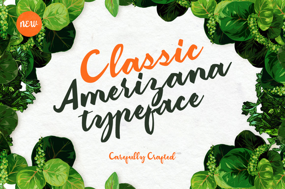 Print on Demand: Amerizana Script & Handwritten Font By Ease Type