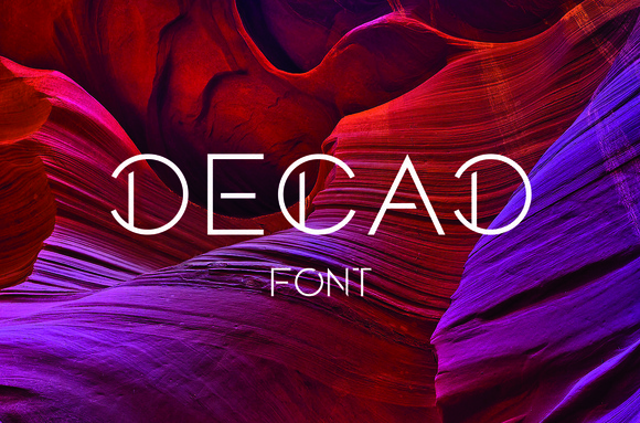 Print on Demand: Decad Sans Serif Font By Juan Pablo Bello Fernández