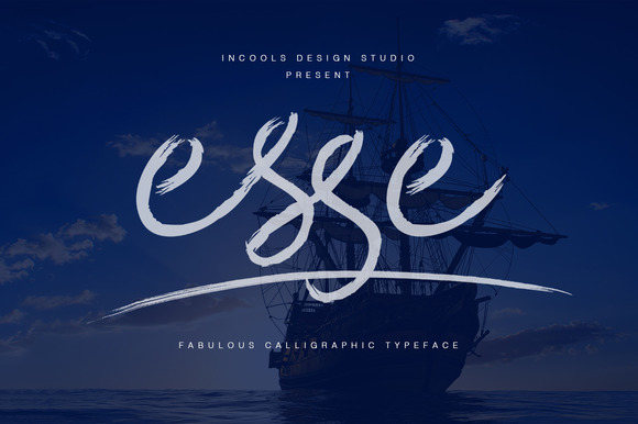 Print on Demand: Esse Script & Handwritten Font By Incools Design Studio