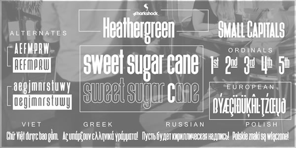 Download Free Heathergreen Font By Sharkshock Creative Fabrica for Cricut Explore, Silhouette and other cutting machines.