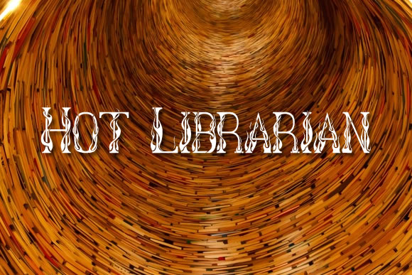 Print on Demand: Hot Librarian Decorative Font By jeffbensch