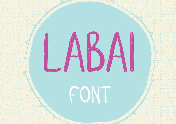 Print on Demand: Labai Sans Serif Font By Silvia Porcu