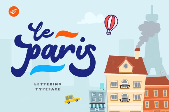 Print on Demand: Le Paris Script & Handwritten Font By Ease Type
