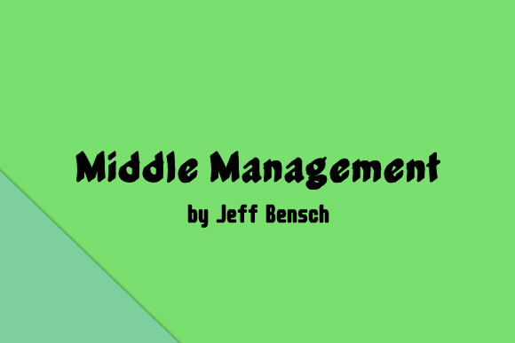 Middle Management Font By jeffbensch