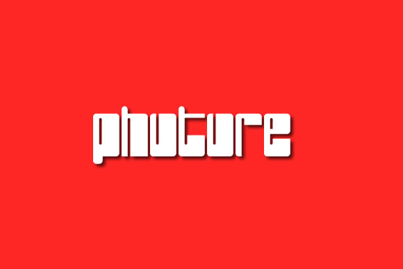 Print on Demand: Phuture Decorative Font By jeffbensch
