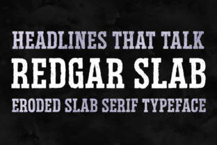 Redgad Slab font by Deepak Dogra with commercial license 1