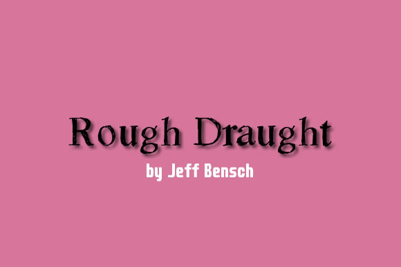 Print on Demand: Rough Draught Decorative Font By jeffbensch