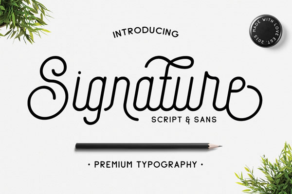 Print on Demand: Signature Script & Handwritten Font By Jokiranta