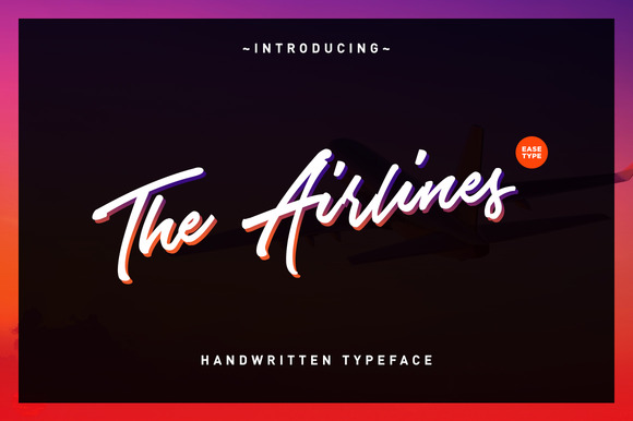 The Airlines Font By Ease Type